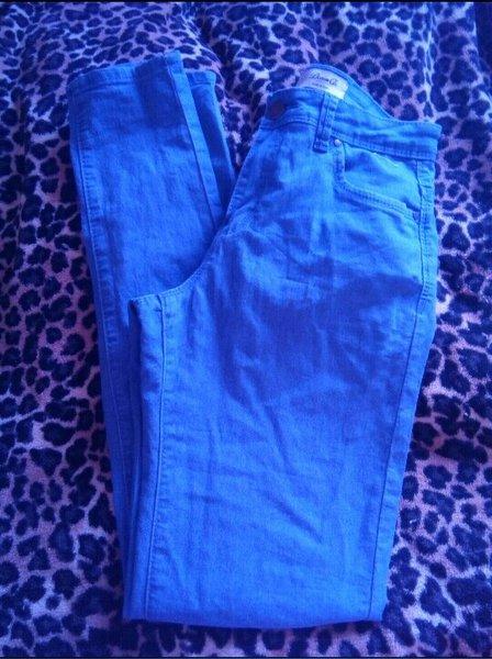 Calças azuis novinhas tamanho 38 marca primark foto 1