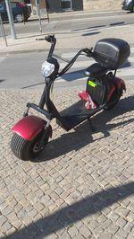 vendo moto a  bateria  usada com 9 kms foto 1