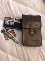 Nintendo 2ds xl com 5 jogos e acessórios foto 1