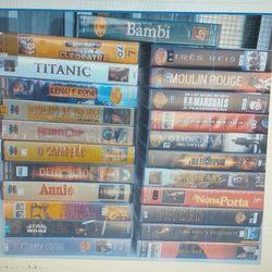 Cassetes de vídeo foto 1