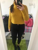 Malha amarela bershka foto 1