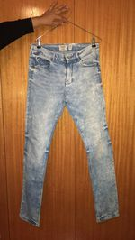 Calças Jeans Skinny Pull foto 1