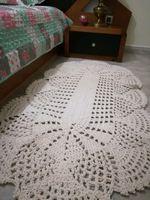 Tapetes em crochê totalmente artesanal foto 1