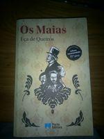 """Livro """"Os Maias"""" novo foto 1"""