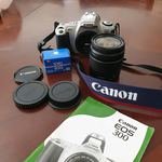 Máquina fotográfica Canon EOS 300 foto 1