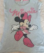 T-shirt Minnie  Tamanho para 14 anos, S ou M foto 1