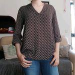 Blusa de tecido muito leve foto 1
