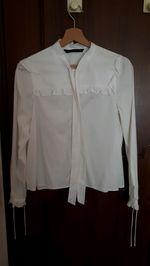 Camisa branca Zara foto 1