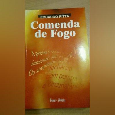 """Livro """"Comenda de Fogo"""""""