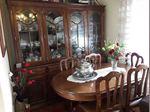 Mobília de sala móvel mesa e 6cadeiras em casa Covilhã foto 1
