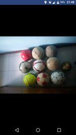 Bolas usadas foto 1