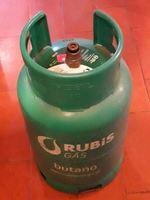 Garrafa de gás BP em ferro. foto 1