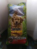 Ração cão 15kg friskies foto 1