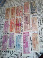 Lotarias antigas anos 40 ,50,60  e 70 foto 1