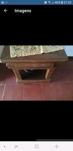 Mesa de centro madeira foto 1