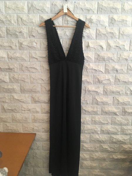 Vestido Zara, cetim comprido foto 1
