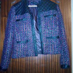 casaco tweed zara foto 1