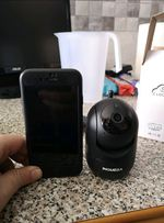 Mini camera rotativa via wifi foto 1