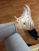 Converse All Star Branco foto 1
