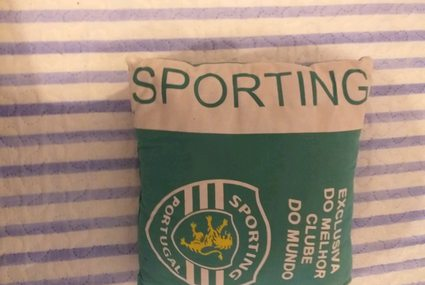 Almofada do Sporting foto 1