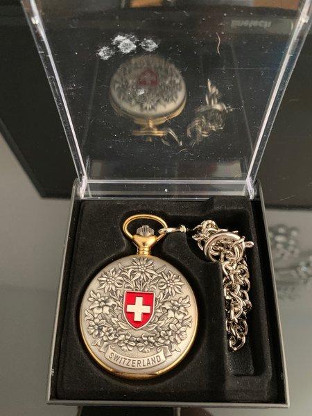 Relógio de bolso da Suíça foto 1