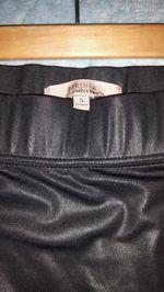 saia preta brilhante bershka tamanho s 3 € foto 1