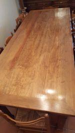 Mesa em pinho foto 1