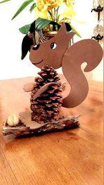 Esquilo para decoração foto 1