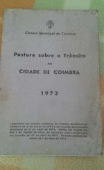 Coimbra trânsito 1973 foto 1