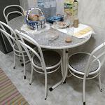 Vendo mesa de cozinha com 4 cadeiras foto 1