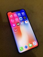 iPhone X cinzento sideral 64 GB Desbloqueado foto 1