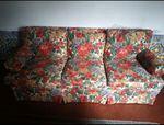 Sofá com 2 cadeirões as flores foto 1