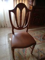 Mesa e cadeiras de sala de jantar foto 1