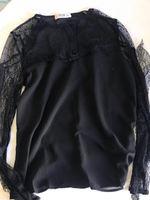 Blusa preta com renda foto 1