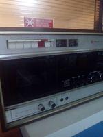 Radio e leitor de cassete com duas colunas foto 1