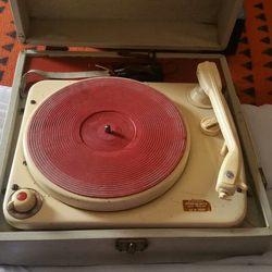 Gira discos vintage foto 1