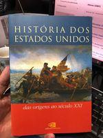 A História dos Estados Unidos - Livro foto 1