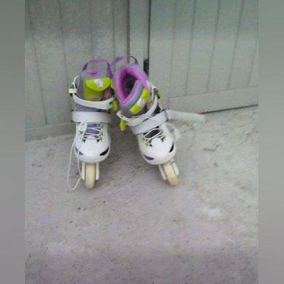 Vendo patins da polly usados foto 1