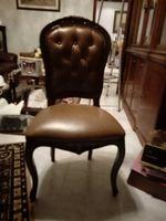 Mesa e 6 cadeiras em mogno como novos foto 1