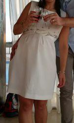Vestido de grávida tamanho S. Usado apenas 1 vez. foto 1