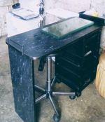 Mesa manicure + banco hidráulico foto 1