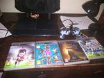 PS3 com jogos foto 1