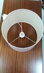 Candeeiro de teto rosa foto 1