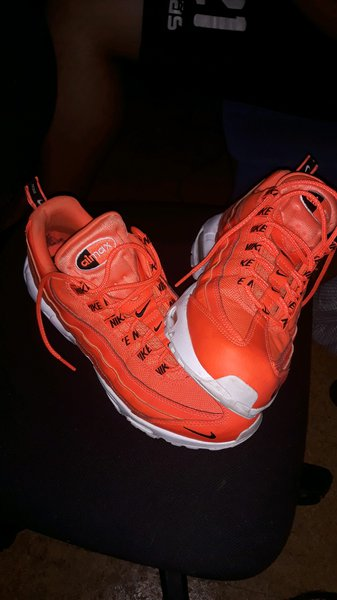 Nike Airmax Orange foto 1