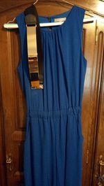 Macacão azul c/ cinto ideal para cerimónia foto 1