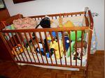 cama de bebe com colchão foto 1