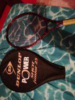"""Vendo duas raquetes (DUNLOP POWER) """"SHOT JUNIOR 25 foto 1"""