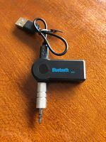 Adaptador AUX Bluetooth receiver / sem fios NOVO foto 1