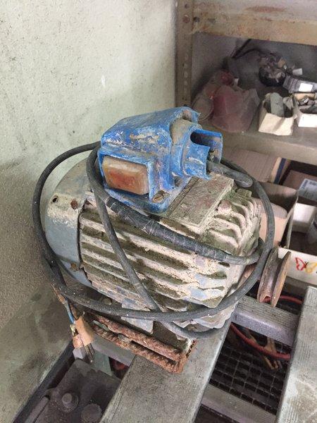 Motor elétrico monofásico Betoneira foto 1