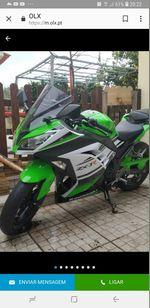 Vendo mota ninja foto 1